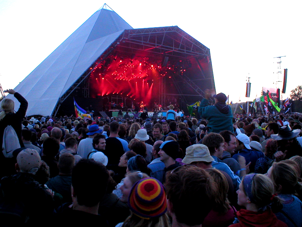 pyramid stage